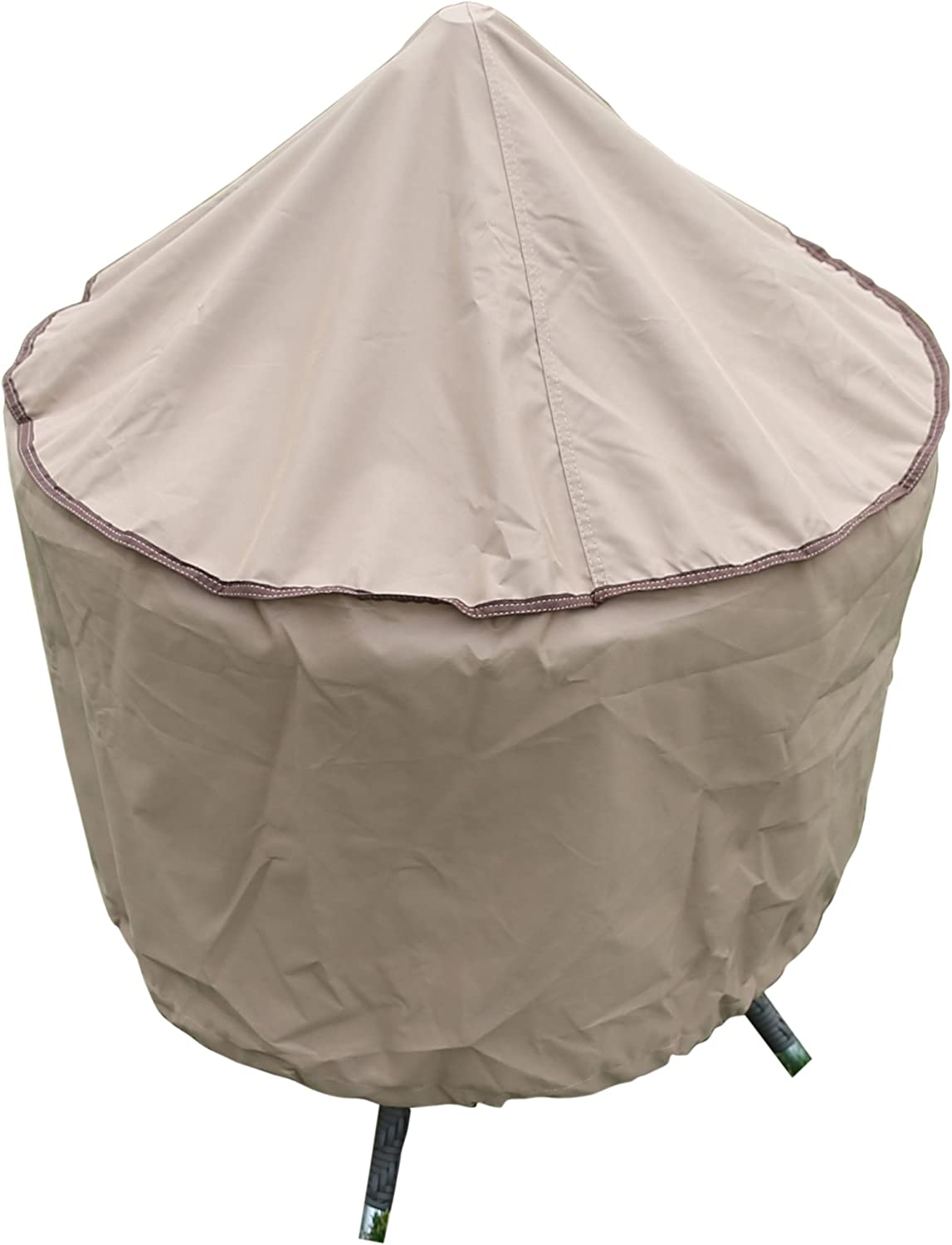 SORARA Round Fire Pit Cover Waterproof SEAL limited product Duty Outdoor and Heavy Branded goods