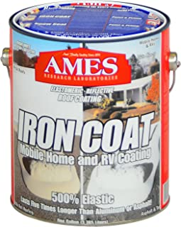Ames IC1 1 Gallon Iron Roof Coating, White, 4 Piece