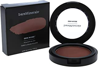 bareMinerals Gen Nude Powder Blush for Women, 0.21 Ounce, But First Coffee