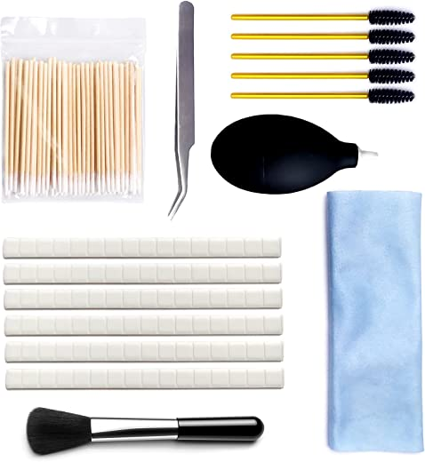 199 Pcs AirPod Cleaner Kit, iPhone Cleaner & AirPod Cleaner, Including Gunk Remover, Air Blower & Brushes for AirPods, Compatible...
