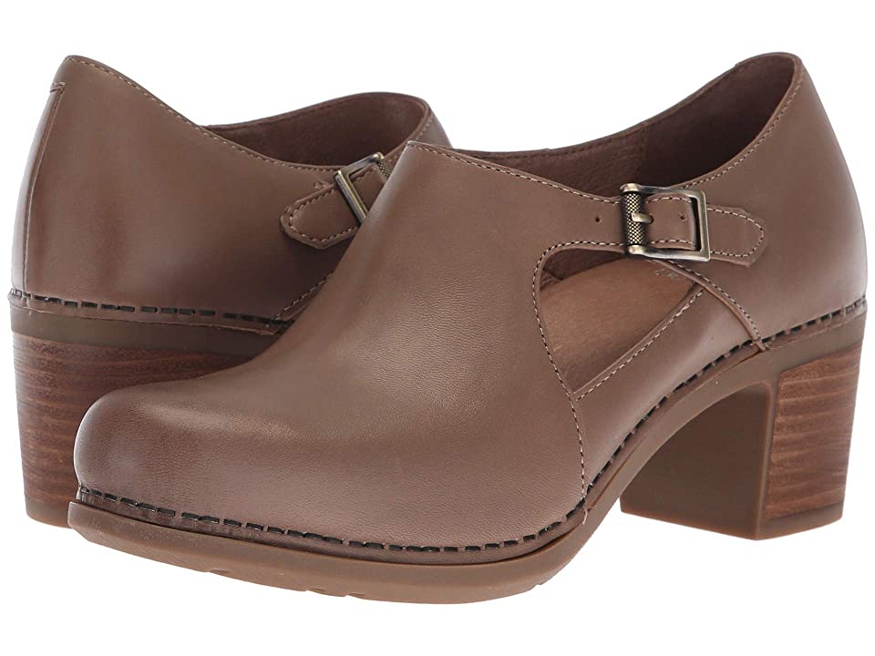Dansko Hollie (Taupe Burnished Calf) Women