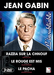 Razzia sur la chnouf / Le rouge est mis / Le pacha (Jean Gabin) (French only)