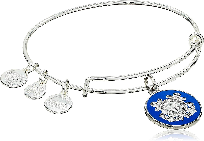 Alex and Ani US Coast Guard II Bangle Bracelet