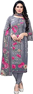 TreegoArt Fashion Women's Printed Crepe Unstitched Salwar Suit/Kameez Dress Material With Dupatta For Women's & Girl's -(F...