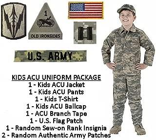 Kids Standard Military Uniform Package - ACU Digital