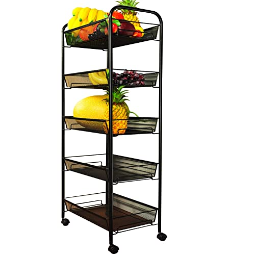 Pantry Cupboard On Wheels: Rolling Pantry Storage Carts: Amazon.com