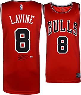0077c3db5ac Zach LaVine Chicago Bulls Autographed Red Fanatics Fast Break Jersey -  Fanatics Authentic Certified - Autographed