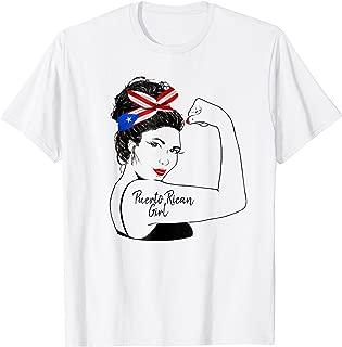 Puerto Rican Girl Unbreakable Shirt Strong Woman Tattoo