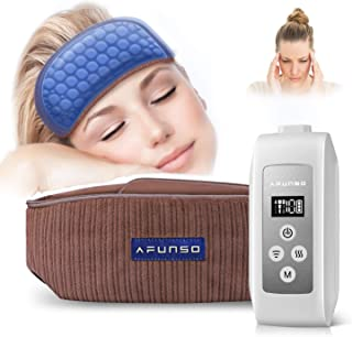 Head Scalp Massager - AFUNSO Scalp Massage Instrument Rechargeable Massager Airbag for Head,Muscles, Leg, Electric Percuss...