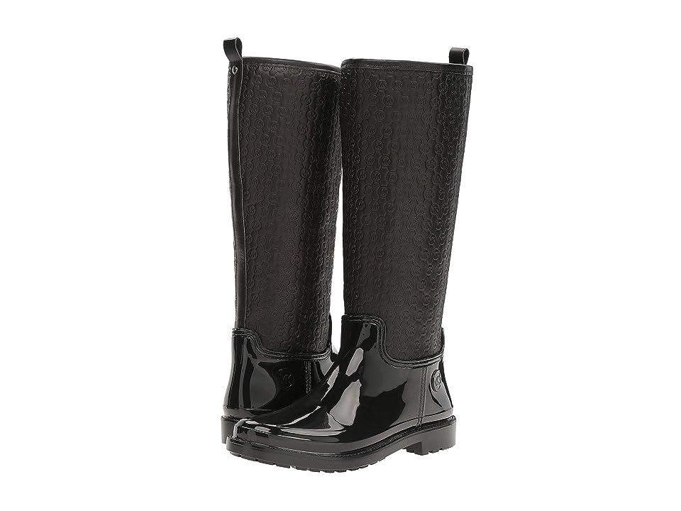 MICHAEL Michael Kors Blakely Rain Boot (Black) Women