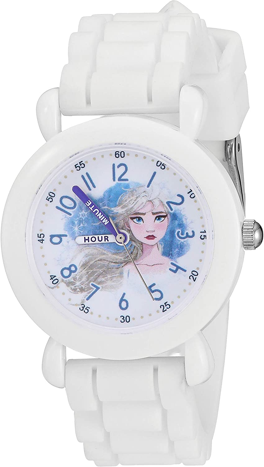 Disney Mail order Girls' Frozen 2 Analog Strap with Watch Silicone Quartz Sales of SALE items from new works
