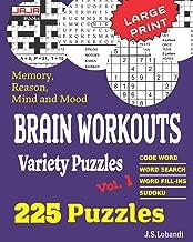 Best large print puzzles for seniors Reviews