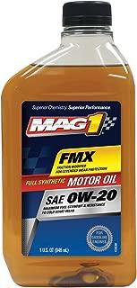 MAG1 61794-pk6 Full Synthetic 0W-20 SN Motor Oil - 32 oz. (Pack of 6)