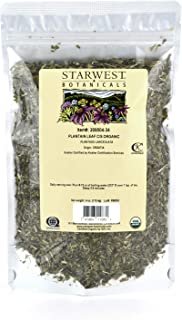 Starwest Botanicals Organic Plantain Leaf Cut & Sifted, 4 Ounces