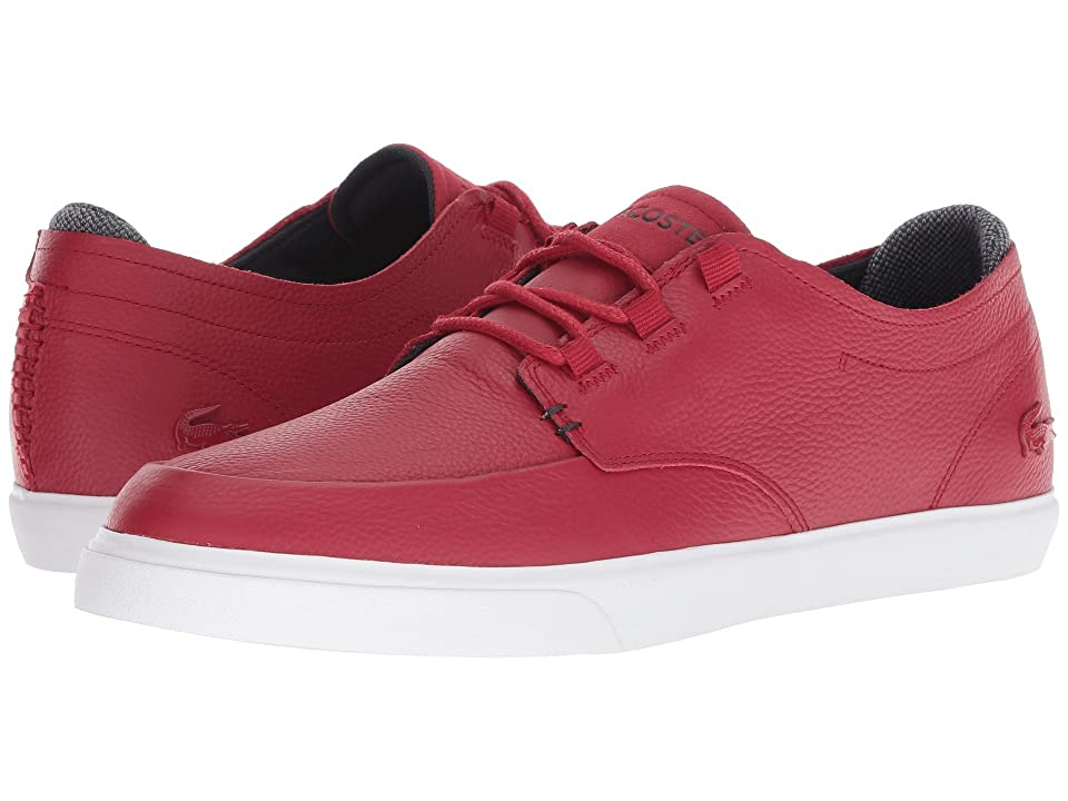 Lacoste Esparre Deck 318 1 (Red/Navy) Men