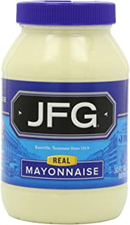 JFG Mayonnaise in Plastic Jar, 30-Ounce (Pack of 4)