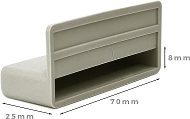 Lot de 10 capuchons pour lattes de lit 70 mm pour cadres en bois