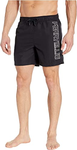Printed Perry Logo Swim Shorts