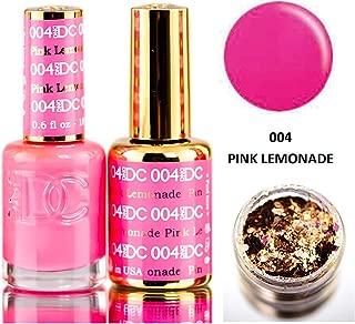 pink lemonade nails