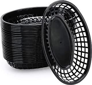 24 Sets Classic Plastic Fry Basket, Eusoar 9.4
