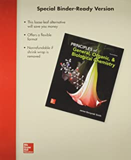 Loose Leaf Principles of General, Organic & Biological Chemistry with Connect Access Card