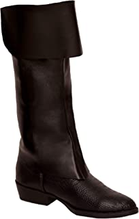 Amscan Notorious Pirate Party Classic Boot (2 Piece) One Size Brown