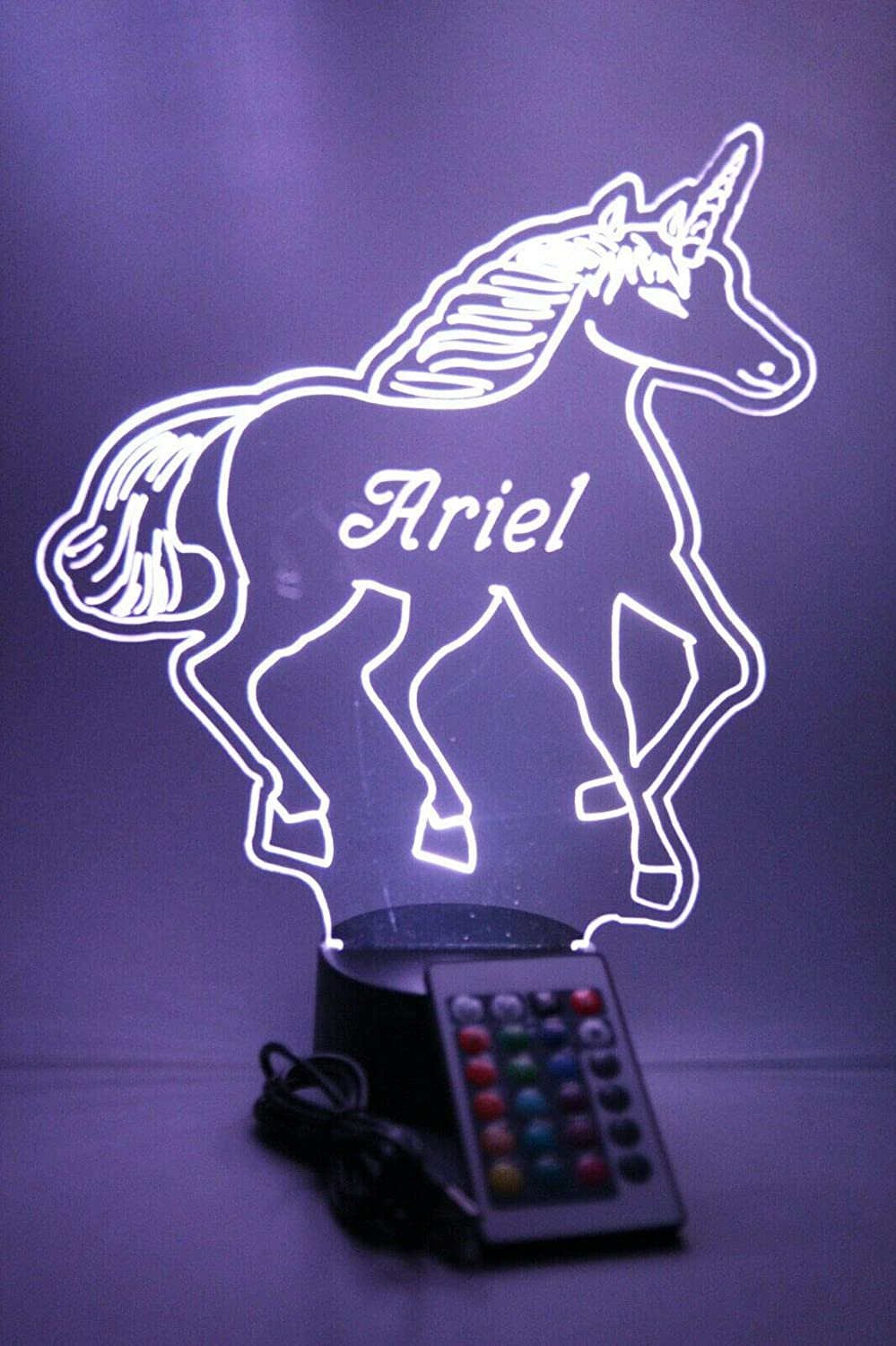 Max 88% OFF Unicorn Light Up Lamp LED Personalized Max 80% OFF Newest Table Fe Our