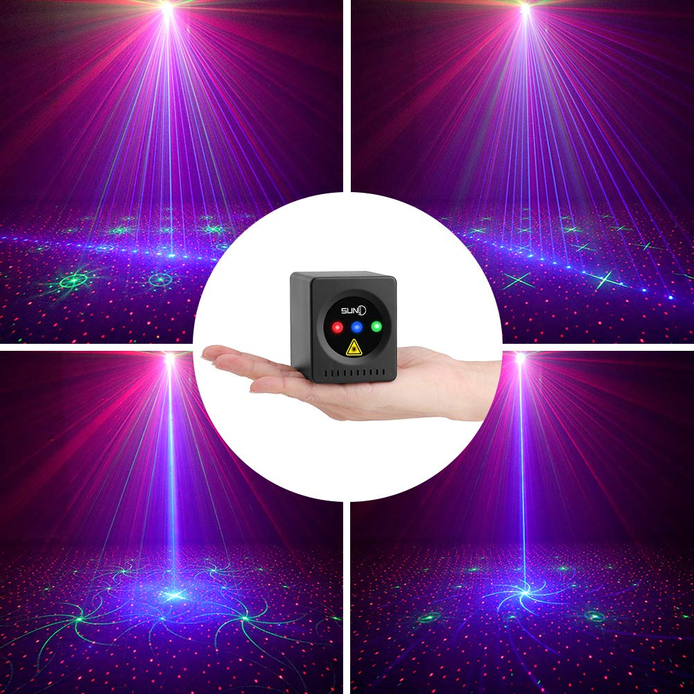 SUNY Portable Rechargeable Projector Activated