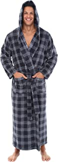 men's big and tall hooded bathrobes