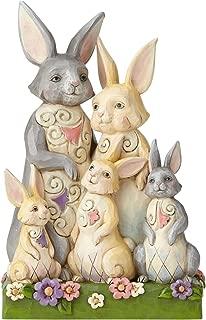 Enesco Jim Shore Heartwood Creek Bunny Family Figurine, 8.4