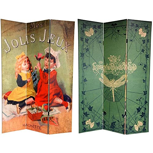 Tall Double Sided Childrenu0027s Stories Canvas Room Divider