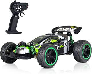 GP - NextX RC Car Electric Remote Control Off Road Monster Truck - 1:18 Scale 2.4Ghz Radio 2WD Fast RC Cars (Green)