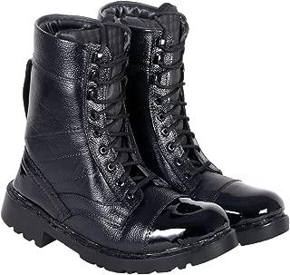 Blinder Mens Black Long Boots