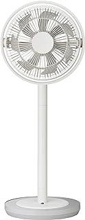 ドウシシャ カモメファン リビング扇風機 28cm 首振り リモコン付き ホワイト FKLV-281D WH...
