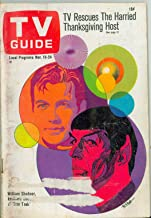 1967 TV Guide Nov 18 Star Trek - Central California Edition Very Good (3 out of 10) Well Used by Mickeys Pubs