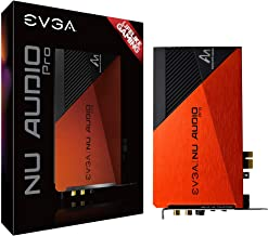 $199 » EVGA NU Audio Pro, Stereo, Lifelike Audio, PCIe, RGB LED, Backplate, Designed with Audio Note, 712-P1-AN11-KR