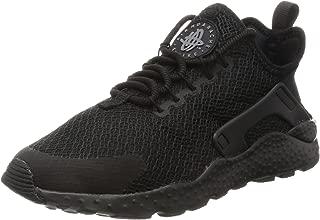 Nike Women's Air Huarache Run Ultra Running Shoe (7.5), Black/Black, Size 7.5