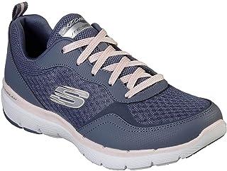 Skechers Australia Flex Appeal 3.0 - GO Forward Women's Training Shoe, Slate/Pink, 7 US