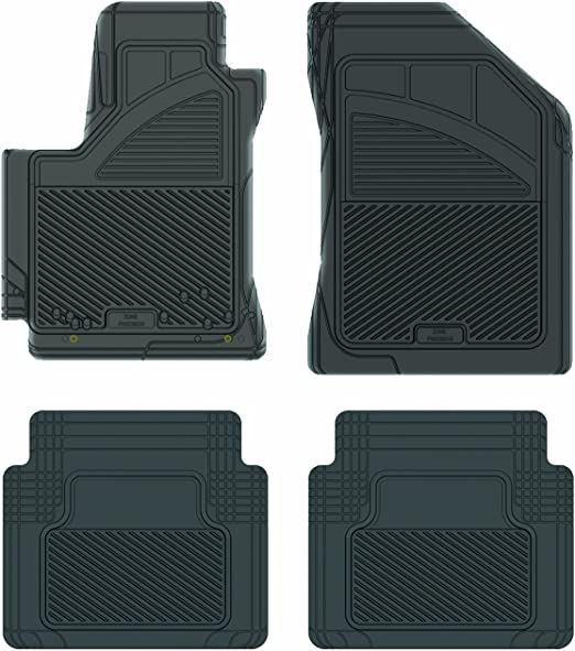 PantsSaver 1113122 Custom Fit Car Mat 4PC Gray