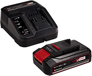 Einhell 4512097 2.5Ah Power X-Change Starter Kit - Battery & Charger Universal For All Power X-Change Devices, 11.3 cm*10....