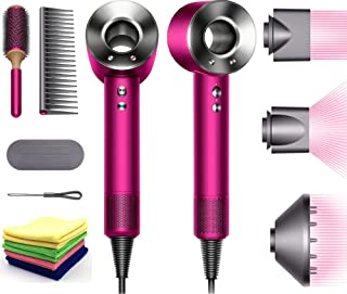 Premium Dyson Supersonic Hair Dryer Limited Special Gift Edition: Fast Drying, Controlled Styling, Powerful, Low Noise, Li...