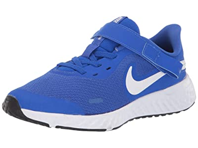 Nike Kids SINGLE SHOE FlyEase Revolution 5 (Big Kid) (Racer Blue/White/Black) Kid