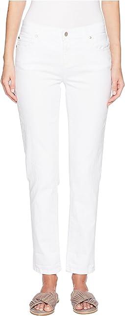 Eileen Fisher Boyfriend Jeans in White