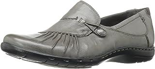 ROCKPORT Women's Cobb Hill Paulette Grey Loafer 5.5 B (M)