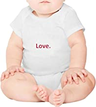 Flag and map of Georgia Short Sleeve Neutral Baby Onesies Outfits Set for Toddler