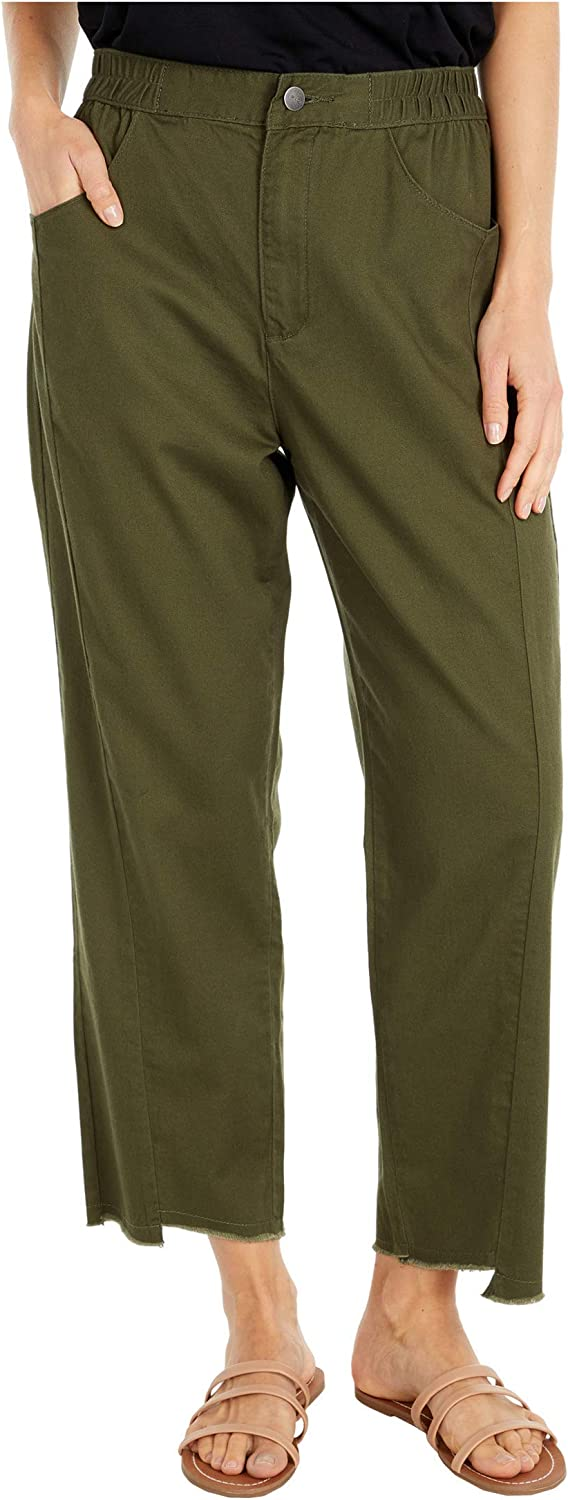 RVCA Women's Out Going High Rise Trouser