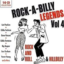 Rock-A-Billy Legends Vol. 4 - Rock And Roll & Hillbilly