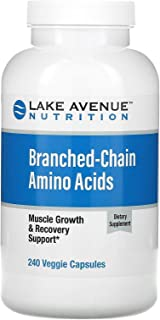 Lake Avenue Nutrition Branched-Chain Amino Acids, 240 Veggie Capsules