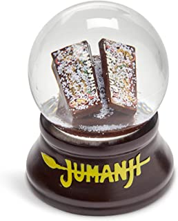 Toynk Jumanji Classic Board Game Collectible Snow Globe Gift | Features The Classic Adventure Board Game Snow Globe On A W...