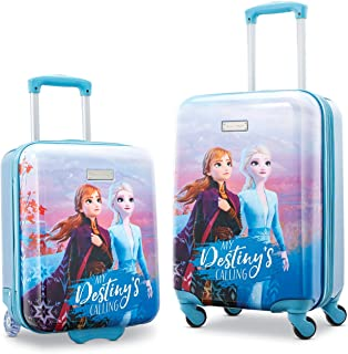 American Tourister Disney Hardside Luggage with Spinner Wheels, 2-Piece Set (18/21), Frozen